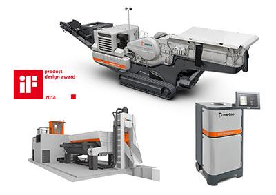 美卓破碎机——优秀的装备产品工业设计实例