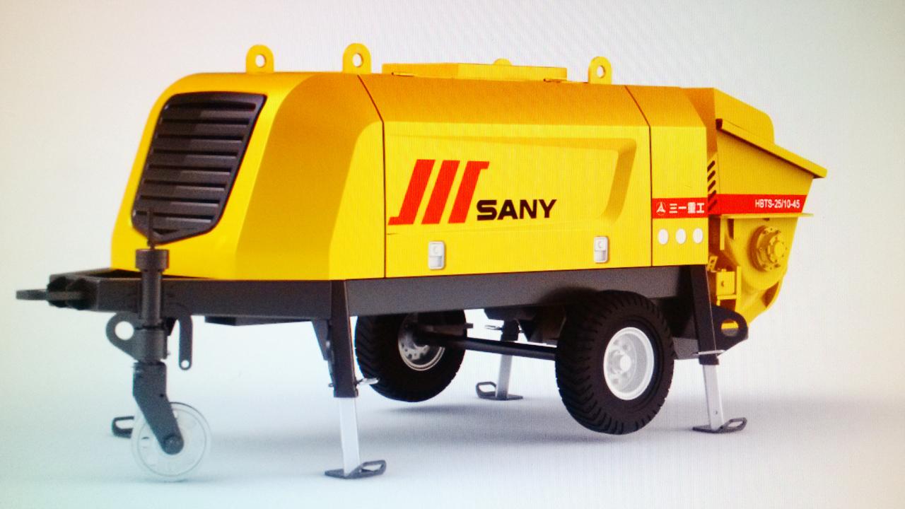 三一重工拖泵工业设计