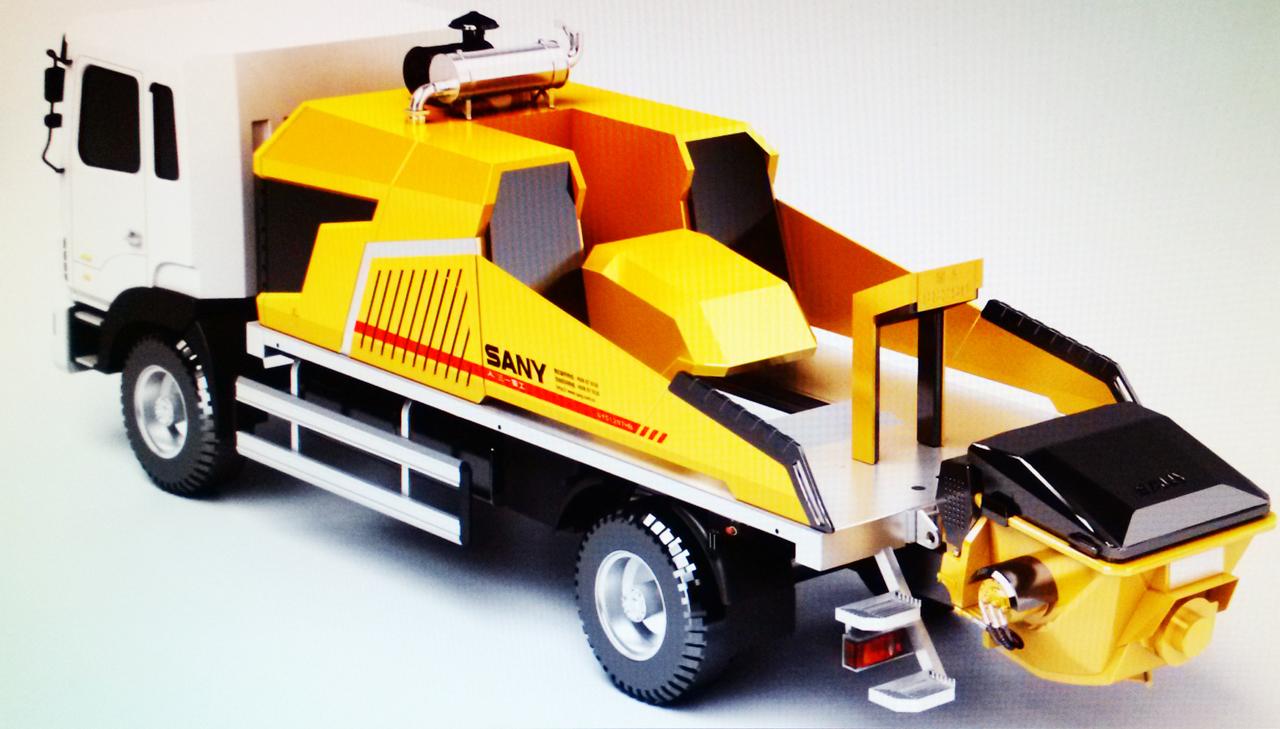 三一重工泵送产品工业设计