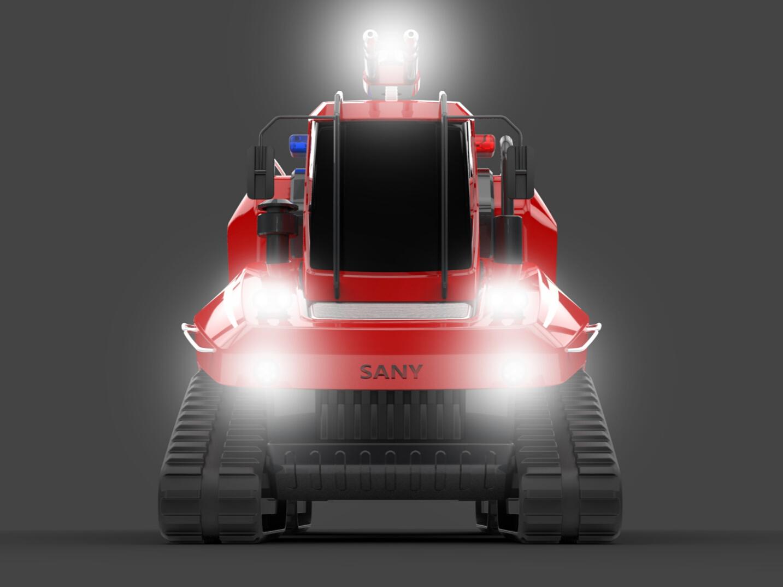 森林消防车-湖南长沙九十八号工业产品设计有限公司