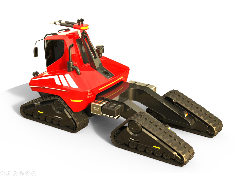森林消防车-湖南长沙九十八号工业产品设计有限公司2