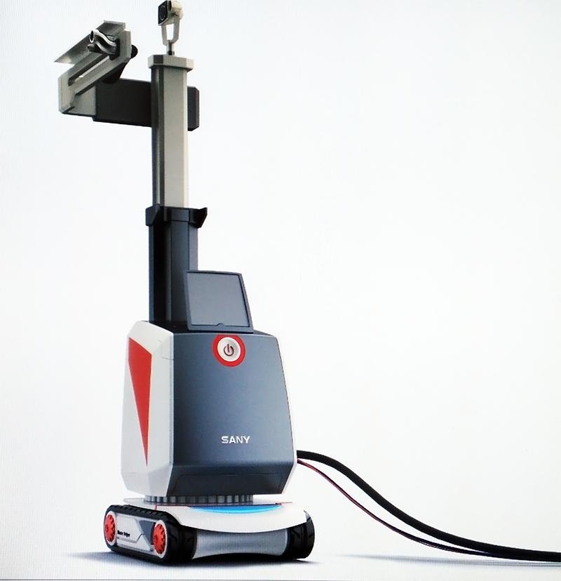 抹墙机器人1